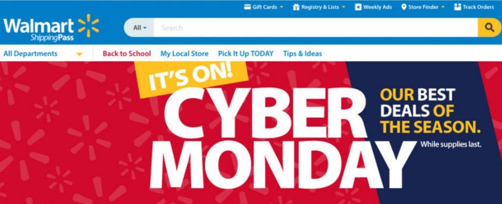 Amazing Walmart Cyber Monday Deals and Ads