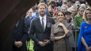 Celebrations of the 125th anniversary of universal female suffrage: the Royal Couple at New Zealand