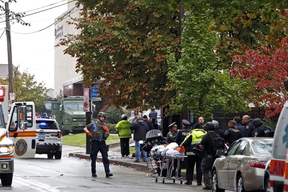 Synagogue shooting in Pittsburgh