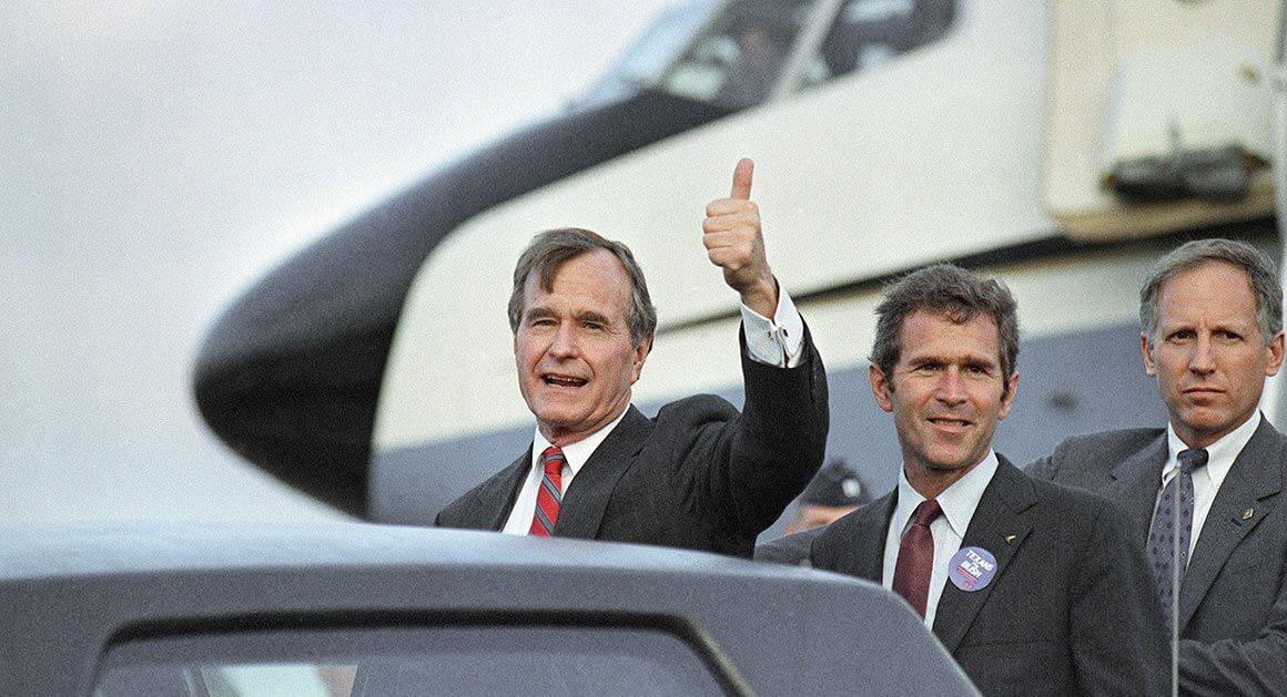 Michael Dukakis versus Bush Campaign