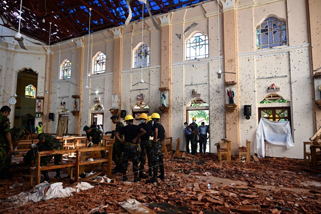 Easter Sunday Bombings Shakes Sri Lanka - Reminded The Nation About Its Violent Phase