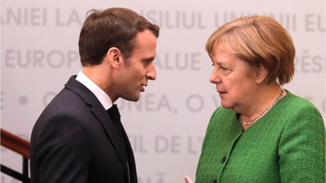 Macron And Merkel Tries Finding A Common Ground In Picking The Next President For The EU Commission