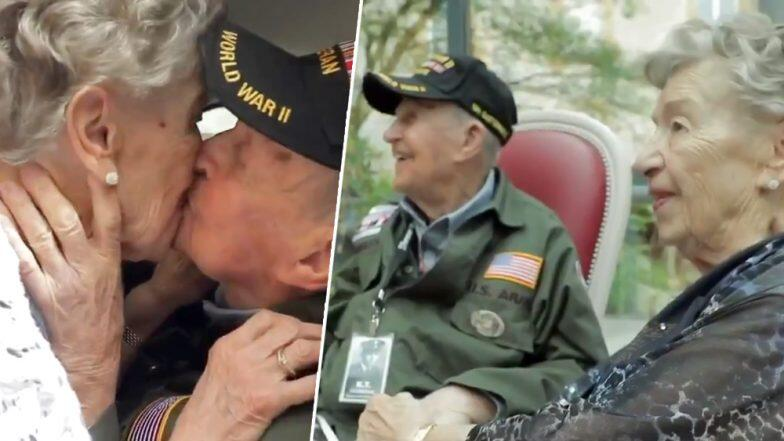 World War II Veteran Lastly Met the French Woman He Fell For 75 Years Ago
