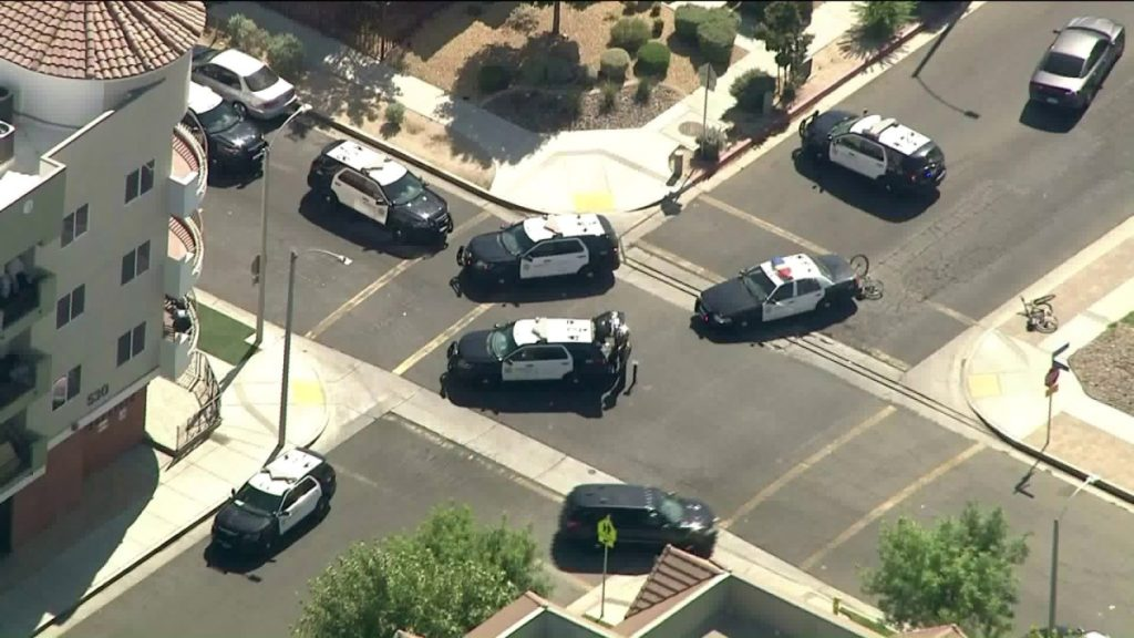 Authorities Search For The Sniper Who Wounded Los Angeles Area Deputy