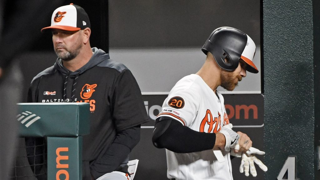 Baltimore Orioles' Chris Davis Had A Spat With Manager Hyde - Had To Be Held Back By Teammates