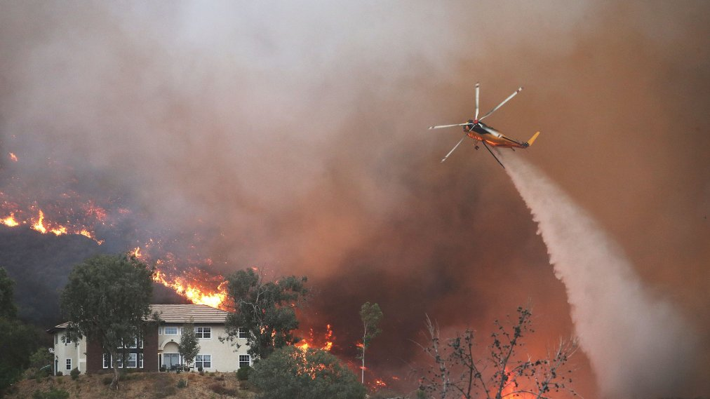 Orange County OKs funds for aircraft to monitor and help predict wildfires' spread