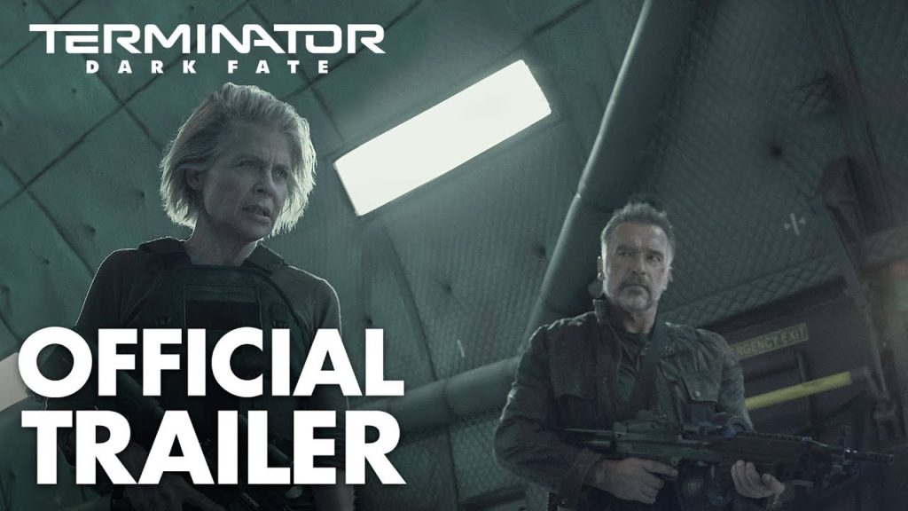terminator dark fate official trailer