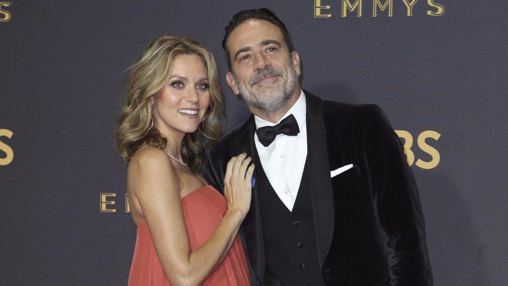 'Walking Dead' actor Jeffrey Dean Morgan's wife, Hilarie ...