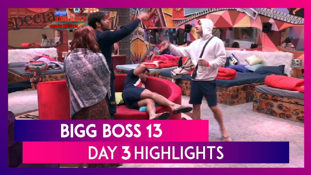 big boss 13 day 3