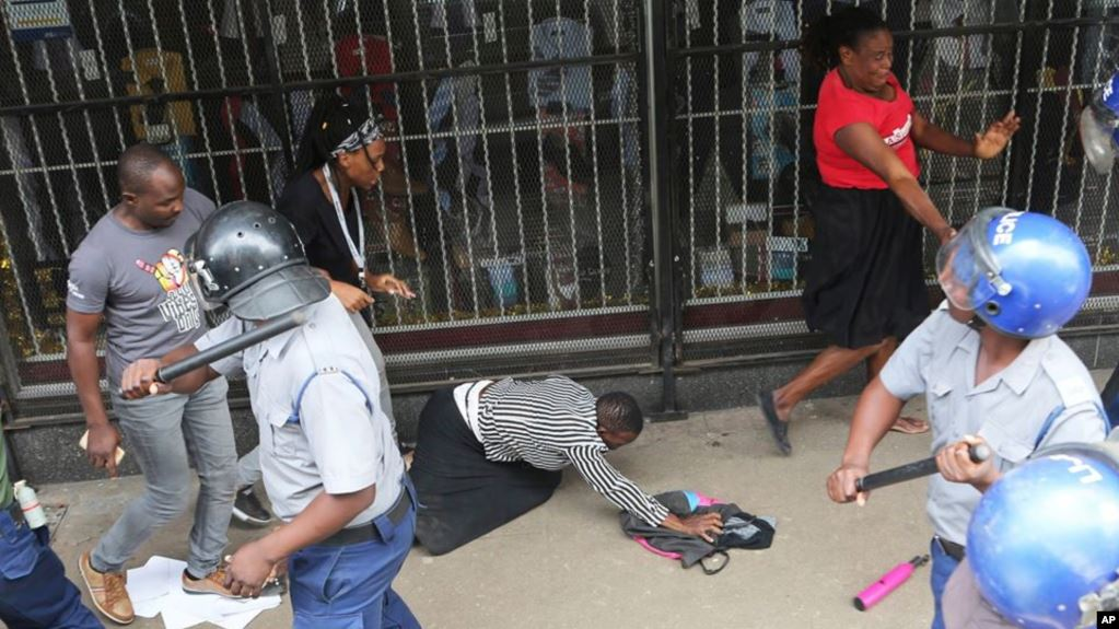 Mayhem in Harare as police brutally unleash premeditated violence