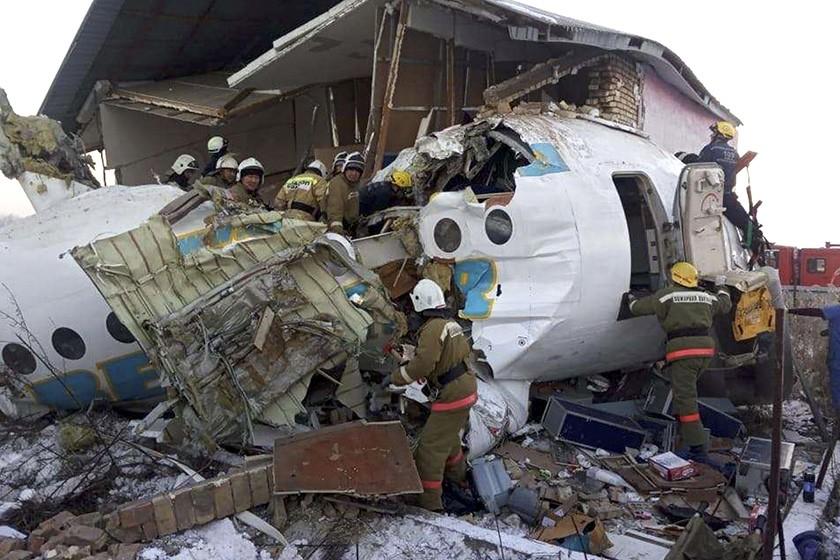 Almaty airport says 15 killed, 66 hurt in Kazakhstan plane crash