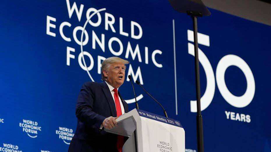 Trump addresses World Economic Forum