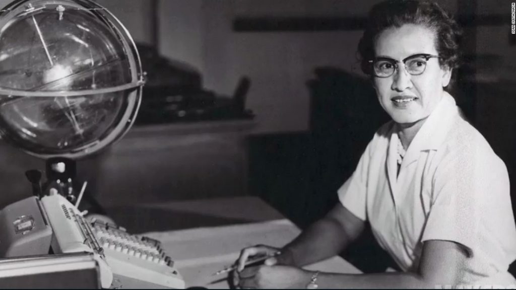 NASA Mathematician & Trailblazer Katherine Johnson