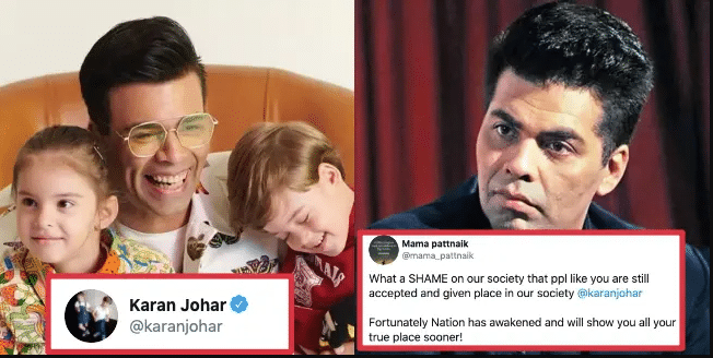 Karan Johar Again Gets Trolled Ruthlessly On Twitter For His Recent Tweet